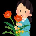 ikebana_woman